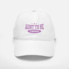 Aunt To Be Twins Baseball Baseball Cap
