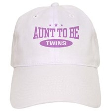 Aunt To Be Twins Baseball Cap
