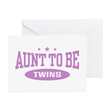 Aunt To Be Twins Greeting Cards (Pk of 10)