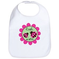 Little Sister Lady Bug Bib