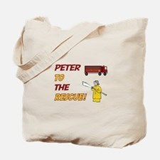 Peter to the Rescue Tote Bag
