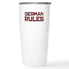 german rules Travel Mug