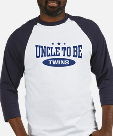 Uncle To Be Twins Baseball Jersey