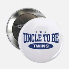 """Uncle To Be Twins 2.25"""" Button"""