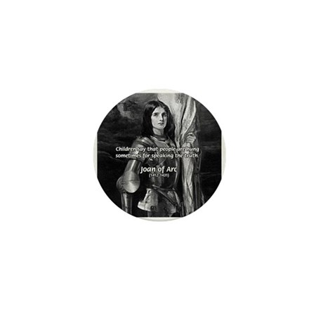 Heroine / Saint Joan of Arc Mini Button