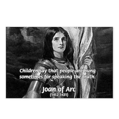 Heroine / Saint Joan of Arc Postcards (Package of