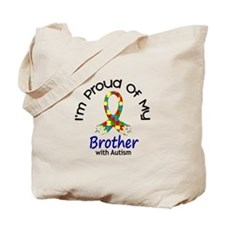 Proud Of My Autistic Brother 1 Tote Bag