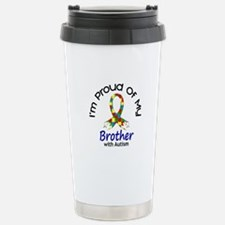 Proud Of My Autistic Brother 1 Travel Mug