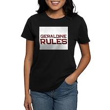 geraldine rules Tee