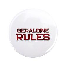 """geraldine rules 3.5"""" Button"""