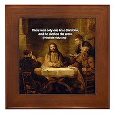 Christianity: Truth / Myth Framed Tile
