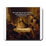 Christianity: Truth / Myth Mousepad