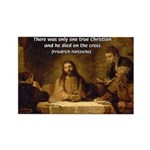 Christianity: Truth / Myth Rectangle Magnet