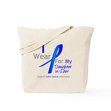 Colon Cancer DaughterInLaw Tote Bag
