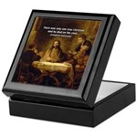 Christianity: Truth / Myth Keepsake Box