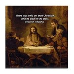 Christianity: Truth / Myth Tile Coaster
