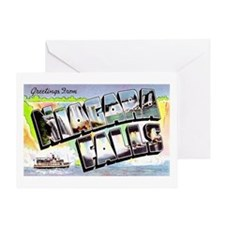 Niagara Falls Greetings Greeting Card