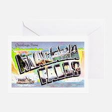 Niagara Falls Greetings Greeting Card