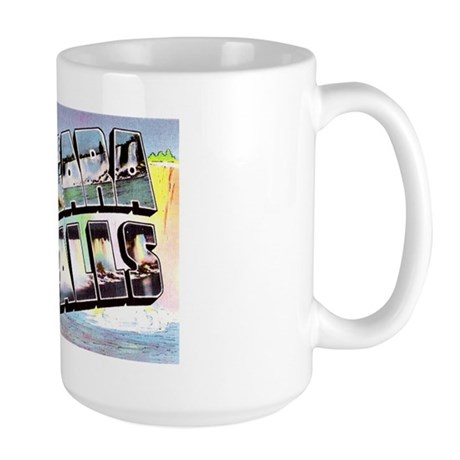 Niagara Falls Greetings Large Mug