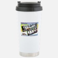 Niagara Falls Greetings Travel Mug