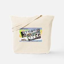 Niagara Falls Greetings Tote Bag