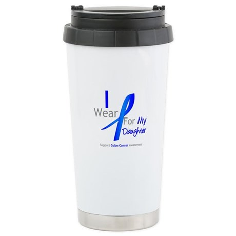 Colon Cancer Daughter Stainless Steel Travel Mug