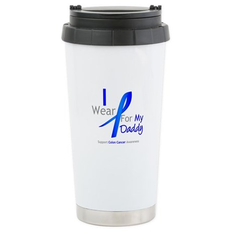 Colon Cancer Daddy Stainless Steel Travel Mug