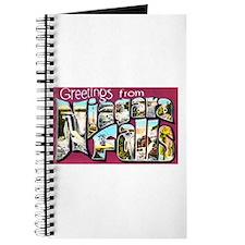 Niagara Falls Greetings Journal
