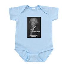 Revolution Thomas Jefferson Infant Creeper