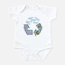 Land, Sea & Sky Infant Bodysuit