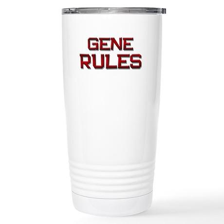gene rules Stainless Steel Travel Mug