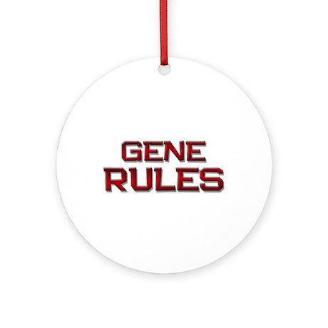 gene rules Ornament (Round)