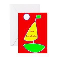 Feliz Cumpleanos Spanish Birthday Greeting Card