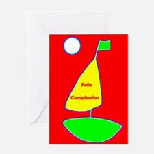 Feliz Cumpleanos Spanish Birthday Greeting Card