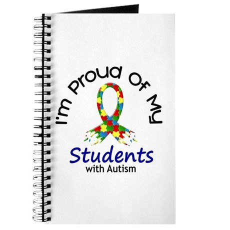 Proud Of My Autistic Students 1 Journal