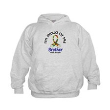Proud Of My Autistic Brother 1 Hoodie