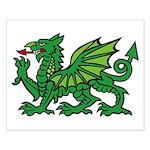 Midrealm Dragon Small Poster