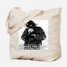 Animal liberation front Tote Bag