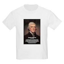 Media Thomas Jefferson Kids T-Shirt