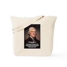Media Thomas Jefferson Tote Bag