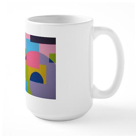 Swirly Large Mug
