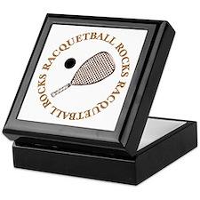 Racquetball Rocks Keepsake Box