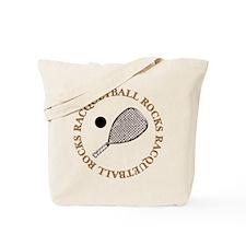 Racquetball Rocks Tote Bag