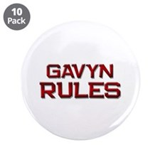 "gavyn rules 3.5"" Button (10 pack)"