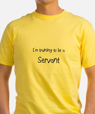 I'm training to be a Servant T