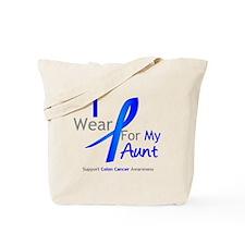 Colon Cancer Aunt Tote Bag