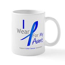 Colon Cancer Aunt Mug