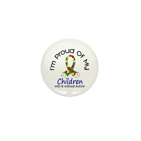Proud Of My Autistic Children 1 Mini Button