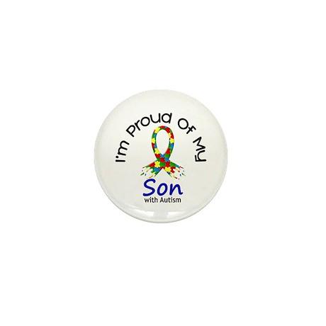 Proud Of My Autistic Son 1 Mini Button