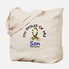 Proud Of My Autistic Son 1 Tote Bag
